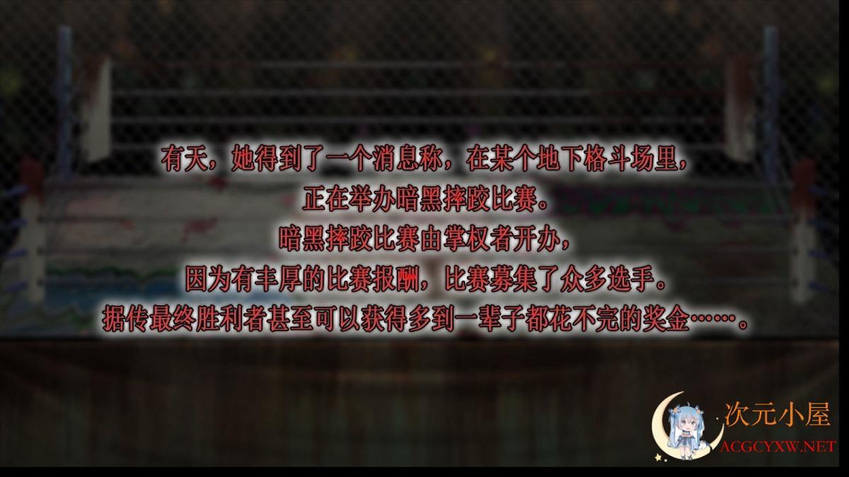 [ACT/中文/全动态]女子摔跤手神垣枫~黑暗摔♂跤场潜入 官方中文版[新作/700M]  8677 次元小屋
