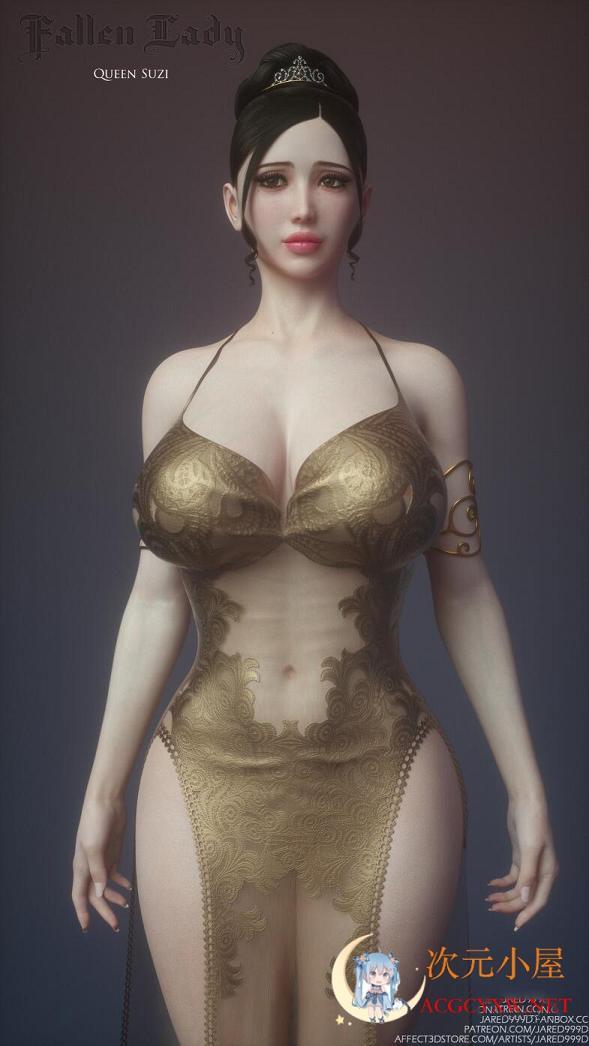 [3D同人/动态][Jared999d] 新作 沉沦圣女~凯伦+苏珊 新汉化完整版[新汉化/超HD]  1421 次元小屋