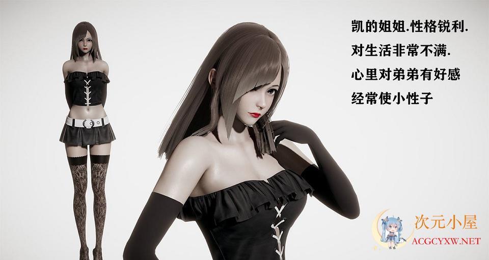 [国产RPG/中文/动态CG]侵染 命运轮回双子篇 V2.0中文作弊版[AI引擎/PC+安卓/4G]  1021 次元小屋